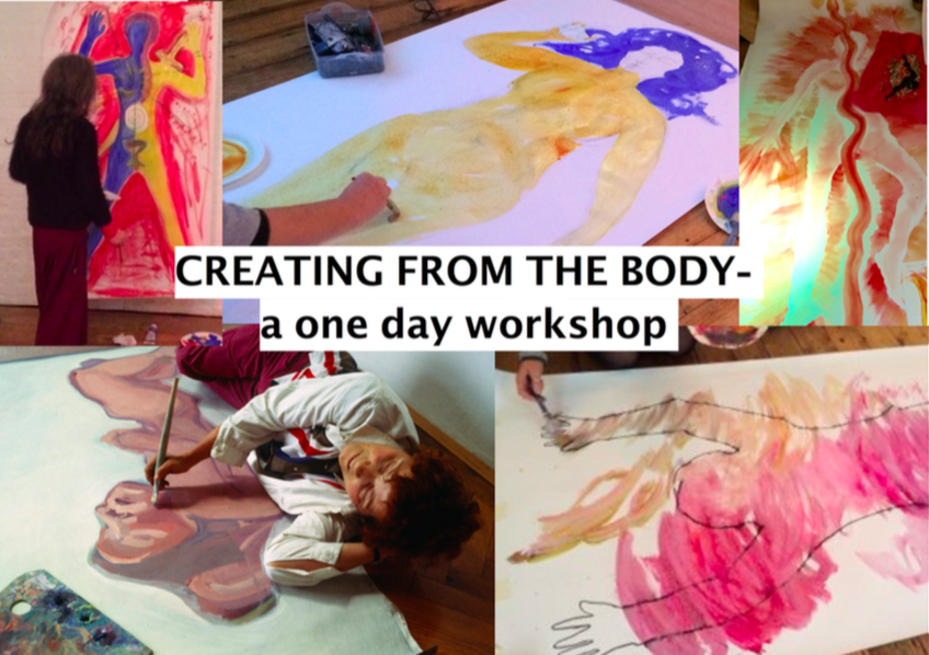 Creating from the Body- a journey into the erotic & creative